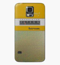 Transistor Radio - Galaxy II Gold Case/Skin for Samsung Galaxy
