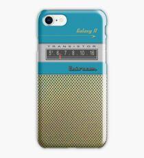 Transistor Radio - Galaxy II Blue iPhone Case/Skin