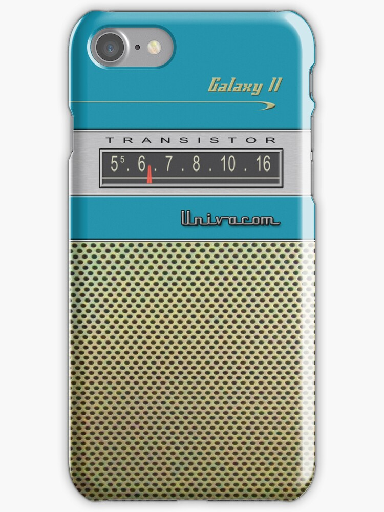 Transistor Radio - Galaxy II Blue by ubiquitoid