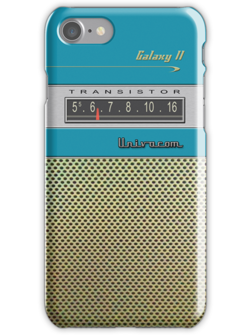 Transistor Radio - Galaxy II Blue by ubiquitoid