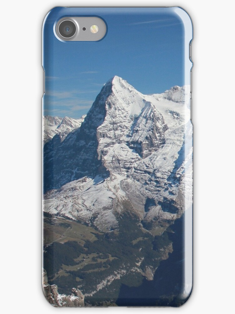The Eiger iPhone Case by Jan Vinclair