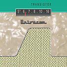 Vintage Transistor Radio - Green by ubiquitoid