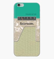 Vintage Transistor Radio - Green iPhone-Hülle & Cover