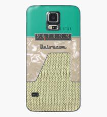 Vintage Transistor Radio - Green Hülle & Klebefolie für Samsung Galaxy