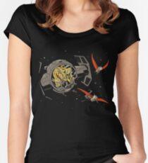 Tie-Rex Women's Fitted Scoop T-Shirt