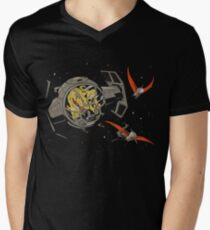 Tie-Rex Men's V-Neck T-Shirt