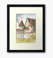 Château Chabrot, Montbron, France Framed Print