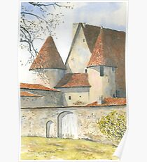 Château Chabrot, Montbron, France Poster