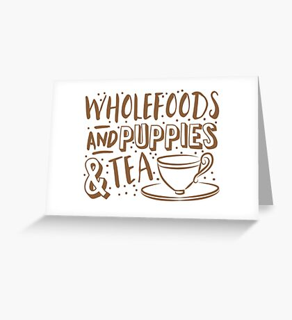 wholefoods greeting cards  redbubble, Greeting card