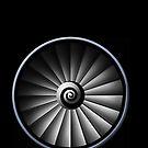 Jet Engine by Marc Payne Photography