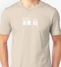Tardis Outline Unisex T-Shirt