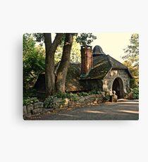 Gardener's Stone Cottage at Skylands Manor, Ringwood State Park NJ Canvas Print