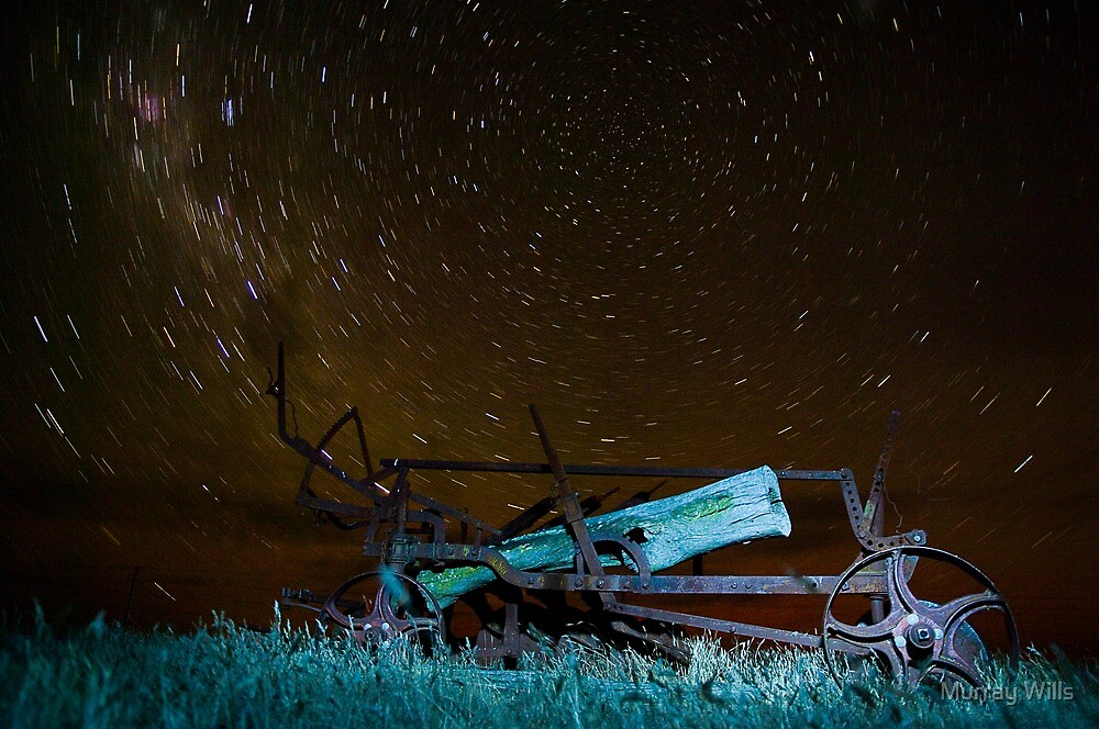 Star Trail Plow by Murray Wills