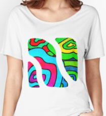 BINGE - Psychedelic artwork Women's Relaxed Fit T-Shirt