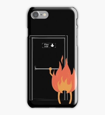 Fire exit iPhone Case/Skin