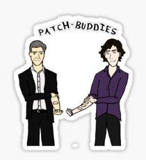 Patch-buddies Sticker