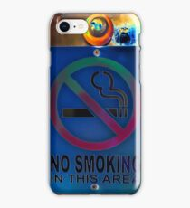 No smoking. iPhone Case/Skin
