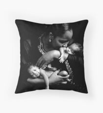 Nurturer Throw Pillow