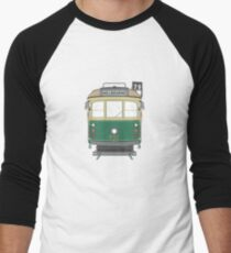 Melbourne Heritage Tram Men's Baseball ¾ T-Shirt