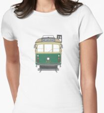 Melbourne Heritage Tram Women's Fitted T-Shirt