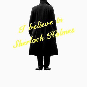 I believe in Sherlock Holmes by ayn08gzu