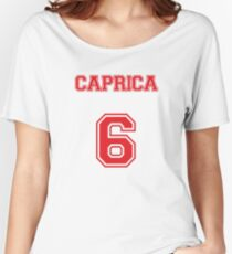 Caprica 6 Women's Relaxed Fit T-Shirt