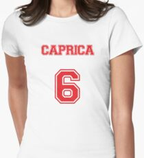 Caprica 6 Womens Fitted T-Shirt