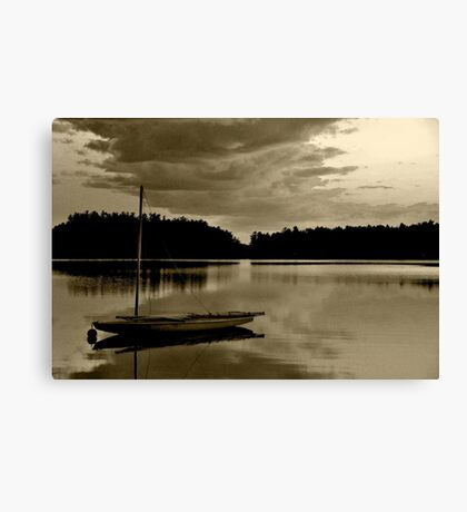 All is Quiet Canvas Print