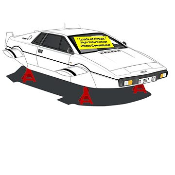 1976 Lotus Esprit - Slight Water Damage by bombadeo