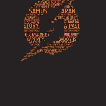 Metroid Typography by TitanVex
