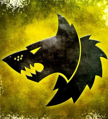 Wolf Icon Sticker