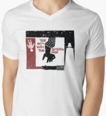 The Boy with the Golden Arm. Mens V-Neck T-Shirt