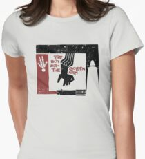 The Boy with the Golden Arm. Women's Fitted T-Shirt