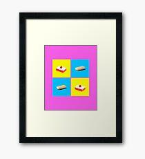 Eat Clean Framed Print