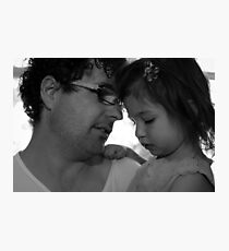 Eyal and Maddie Photographic Print