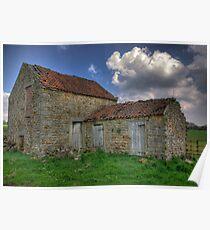Old Barn - Lastingham Poster