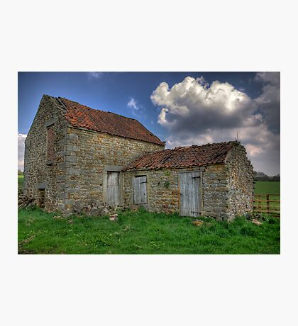 Old Barn - Lastingham Photographic Print