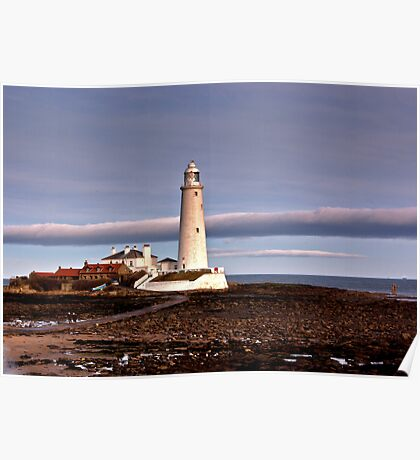 St Mary's Lighthouse Poster