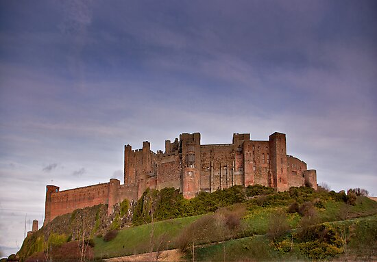 Bamburgh Castle by Trevor Kersley
