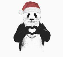 Santa panda Unisex T-Shirt