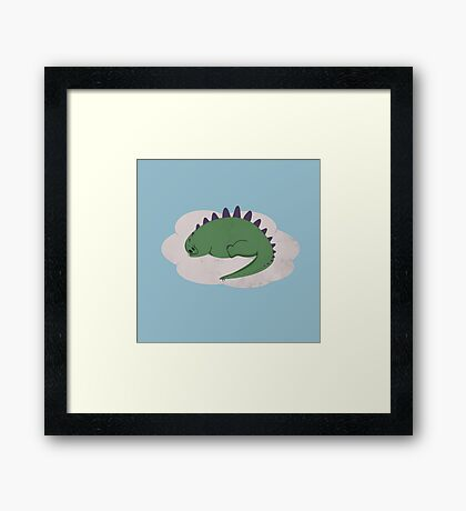Asleep on a Cloud Framed Print