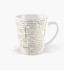 Shakespeare's Insults Collection - Revised Edition (by incognita) Tall Mug