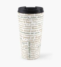 Shakespeare's Insults Collection - Revised Edition (by incognita) Travel Mug