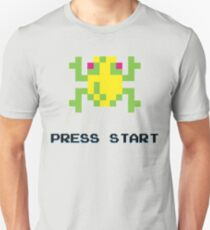 FROGGER RETRO PRESS START ARCADE TSHIRT T-Shirt