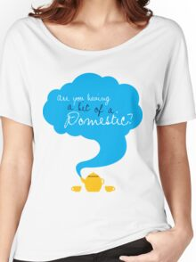 Bit of a Domestic Women's Relaxed Fit T-Shirt