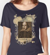 Shakespeare First Folio Front Piece Women's Relaxed Fit T-Shirt