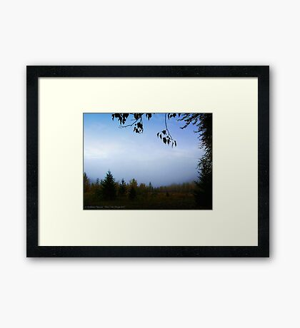 My October (Great Northern Flats, Montana, USA) Framed Print