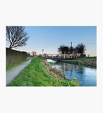 Fordgate Swingbridge Photographic Print