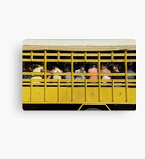 public transport Canvas Print
