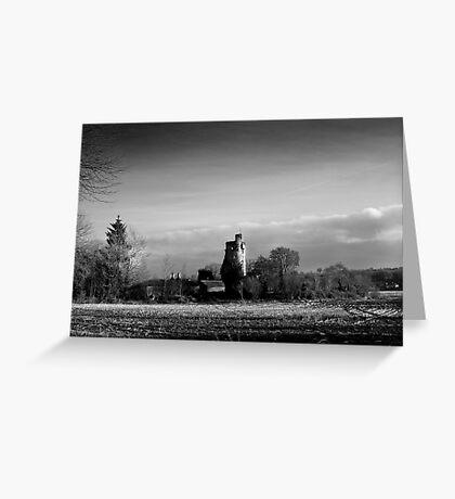 Winter Sun in Macollop Greeting Card